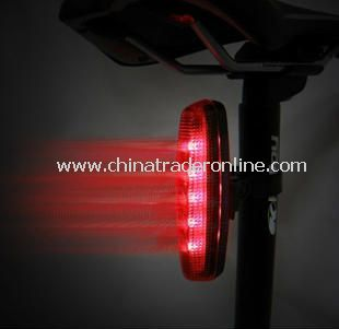 NEW BIKE BICYCLE CYCLE 5 LED RED LONG REAR TAIL LIGHT
