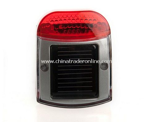 Solar Power Led Bike Rear Tail Light Lamp square from China