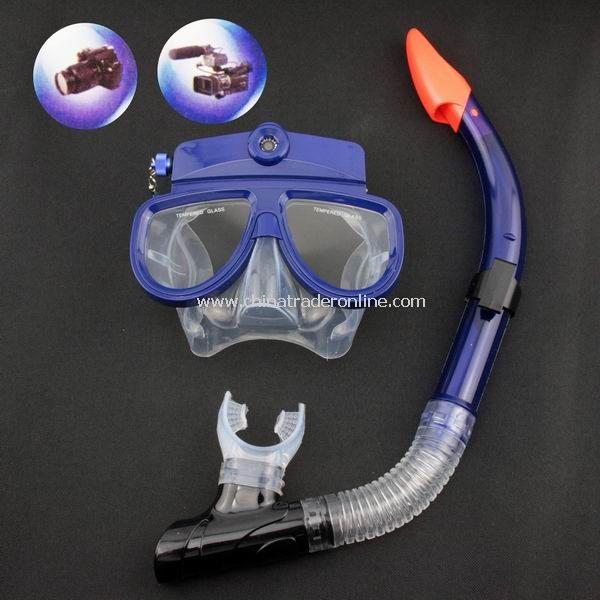 4GB Liquid Image Underwater Digital Camera Diving Mask New