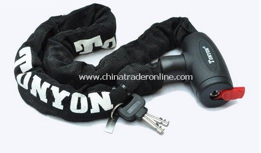 90CM Coating Bike Chain Lock BLACK
