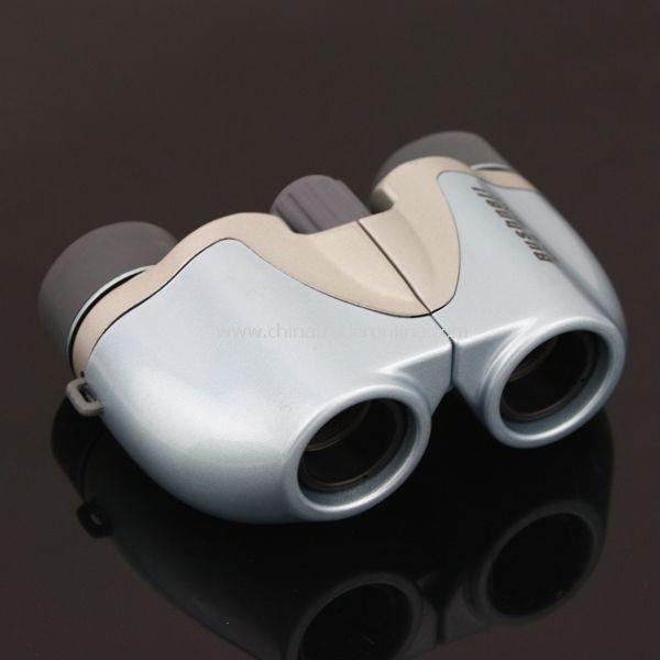 Bushnell Powerview 6x18 Compact Folding Binoculars Light Blue