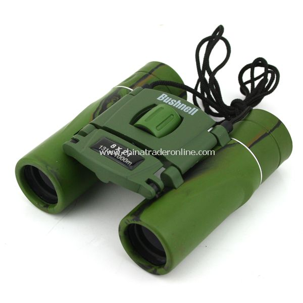 Bushnell Waterproof Binocular 8x21 Portable Telescope Folding Roof Prism New from China