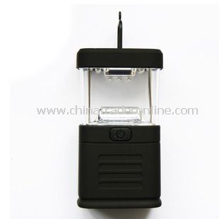 Mini 11 LED Lantern Light Lamp Torch For Bivouac Camping Fishing Caving Climbing from China