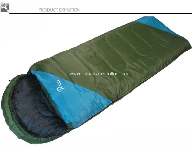 outdoor camping sleeping bag in spring and autum season