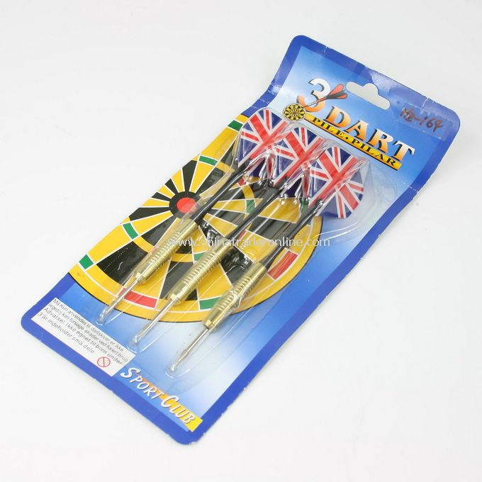 Set of 3 Dart the Union Jack shape Darts