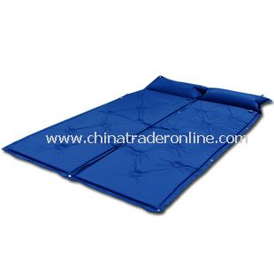 Automatic airbed Self Inflating Camping Mat Mattress Blue color