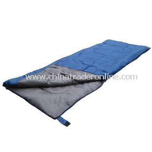 Camping Sports cotton filled lightweight sleeping bag Blue Color