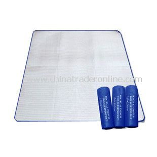 Double Travel Camping Aluminum Foil Sleeping Dampproof Mat Pad