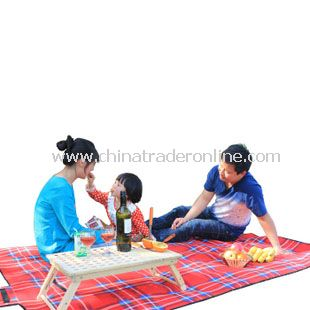Practical Outdoor Rectangle Flannelette Picnic Mat