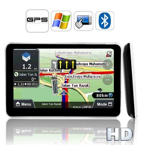 5 Inch HD Touch Screen GPS Navigator