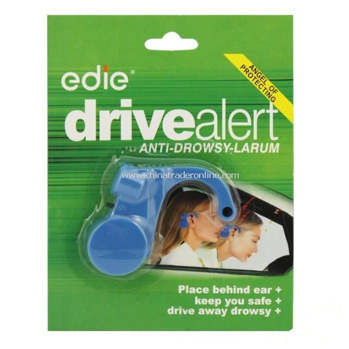 Brand New Blue Anti-Dozing/ Drowsy Larum Drive Safety Alert Alarm