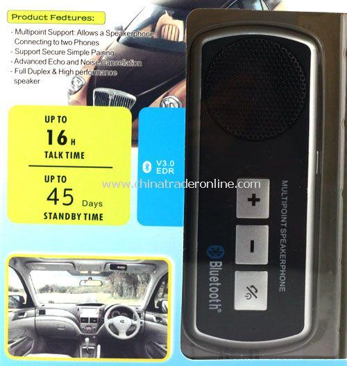 Handsfree In-car Bluetooth Speakerphone Car Kit Speaker Phone