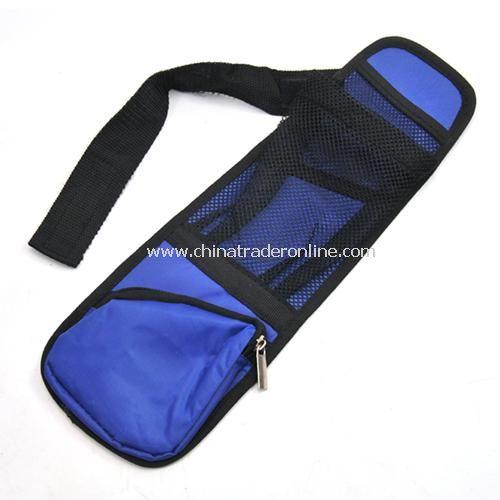 Car seat side pockets multifunction storage bag color random