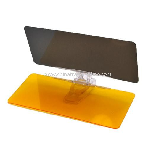 car sun visor day and night glare mirror goggles