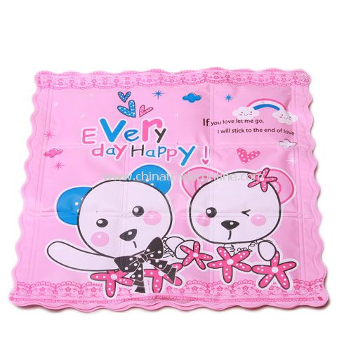 cool summer cartoon ice cooling cushion pad pink couple lovers