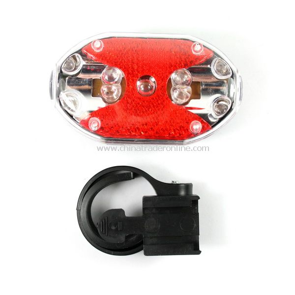 Flashing 9 LED Bike Bicycle Back Rear Tail Flashlight Lamp Torch Safety Warning with Mount Clip