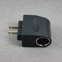 NEW US Plug AC to Car Cigarette Charger Converter Black