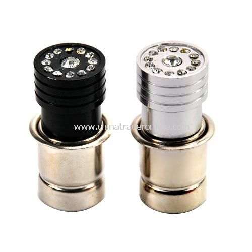 Vehicle with drill cigarette lighter car cigarette lighter