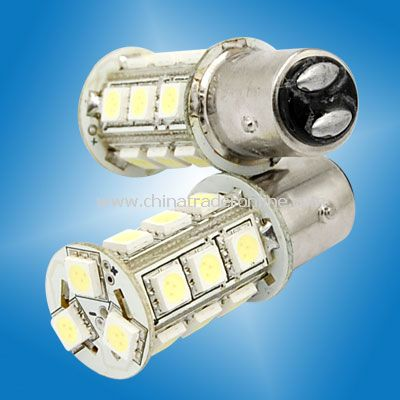 1157 BAY15D 18 5050 SMD LED Cold White Tail Turn Signal Light Bulbs
