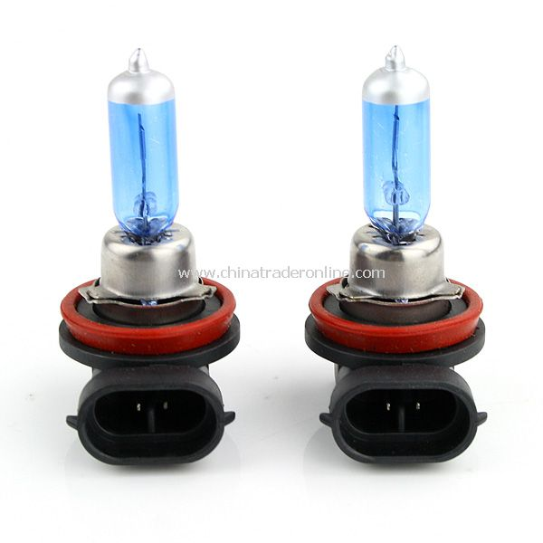 2PCS H8 Long Life Halogen Auto Car Bulb Lamp 6000K 12V 35W New