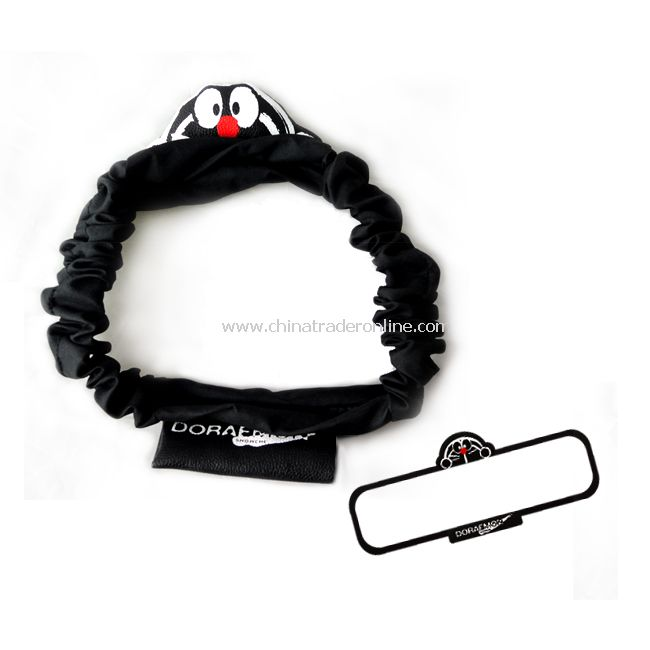 Car Vehicle Rearview Rear View Mirror Cover Black New
