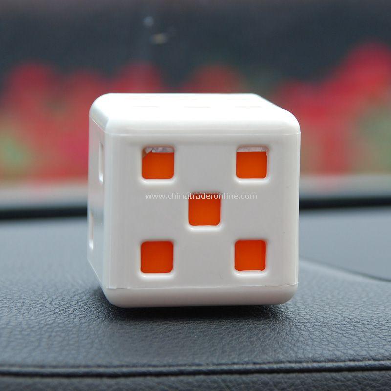 dice car perfume seat / car seat perfume color random from China