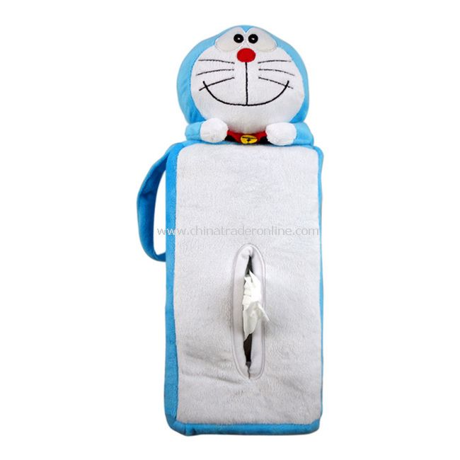 Lovely Cartoon Doraemon Novelty Toilet Tissue Box Cover New