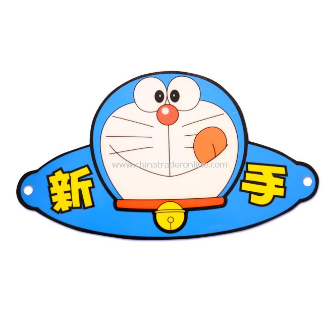 "New Doraemon ""New Driver"" Safety Car Sign Decal Sticker"