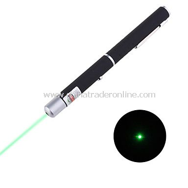 Mid-open 10mW 532nm Green Laser Pointer Pen Green Laser Indicator 2XAAA