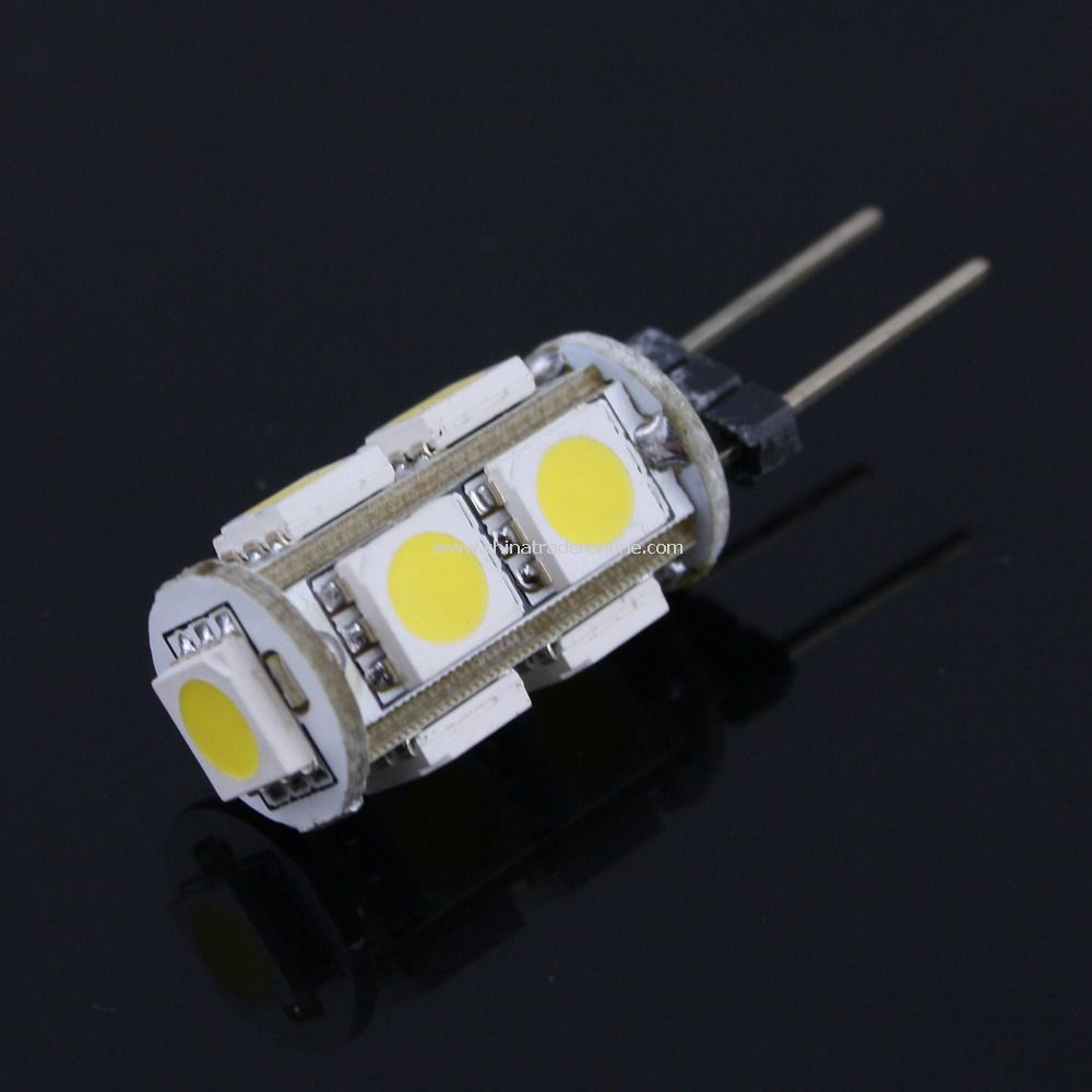 Warm White G4 5050 9 SMD LED Marine Bulb Lamp Light 12V