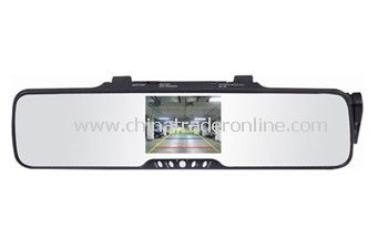 3.5 TFT Bluetooth car kit wireless back-up camera system