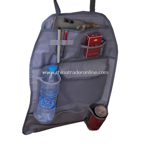 Car Auto Back Seat Hanging Organizer Collector Storage Multi-Pocket Hold Bag from China