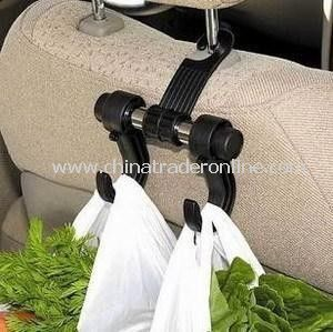 Multipurpose PP Double Car Seat Hooks