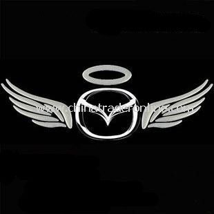 New 3D Decal Eagle wings Style Car Emblem Logo Sticker Paper