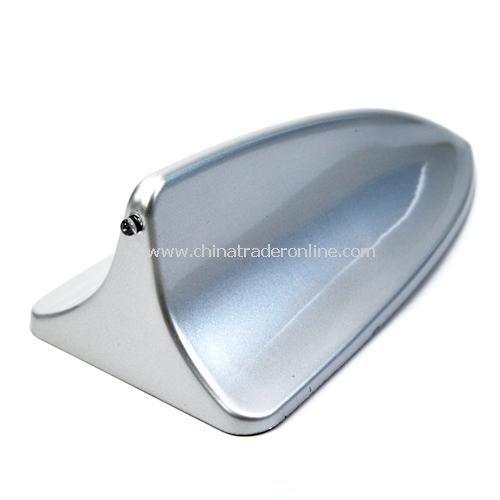 Universal car antenna /antenna shark fin antenna / Decorative Antenna - Silver