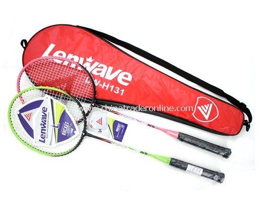 Aluminum alloy couple badminton racket