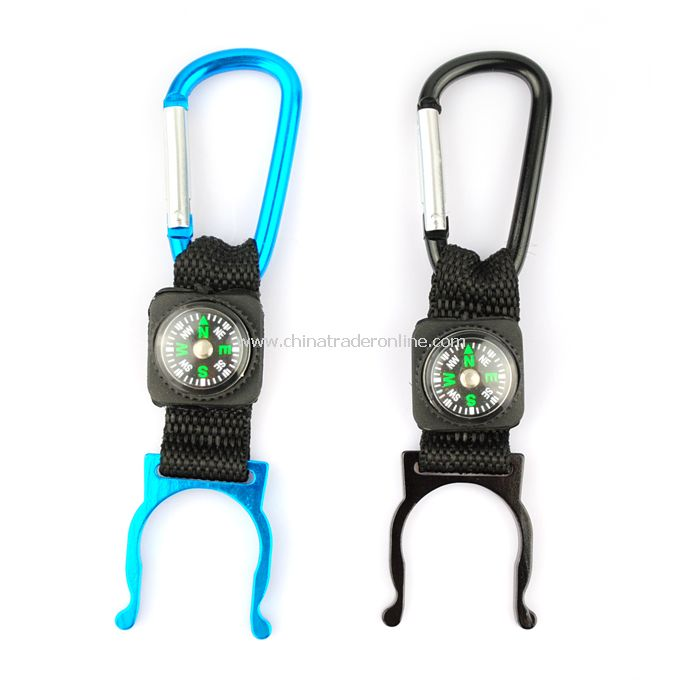 Aluminum Alloy Water Bottle Buckle Holder Hook for Hiker Camper