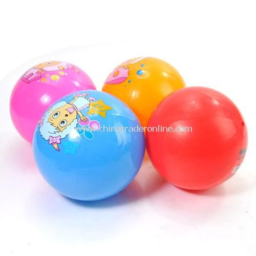 Goat and Big Big Wolf quality inflatable ball color random