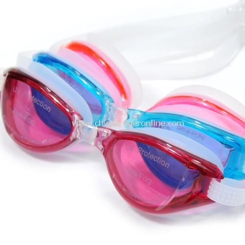 High-quality waterproof fog UV protection, swimming goggles - male models random color