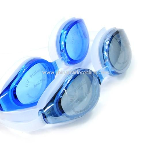 High-quality waterproof fog UV protection, swimming goggles - women random color