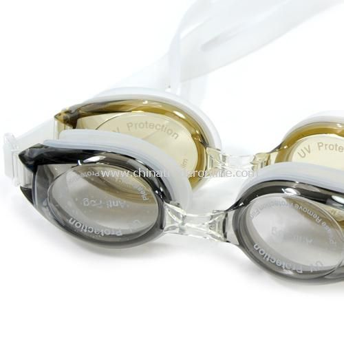 High-quality waterproof fog UV protection, swimming goggles. random color