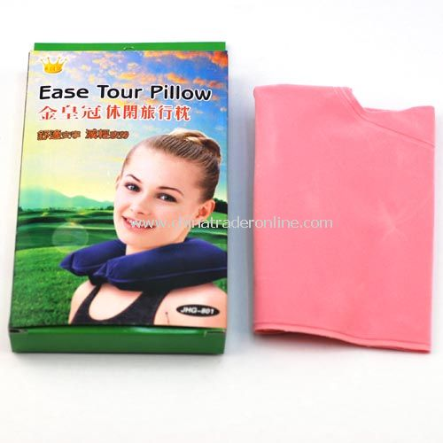 Leisure travel pillow - pink
