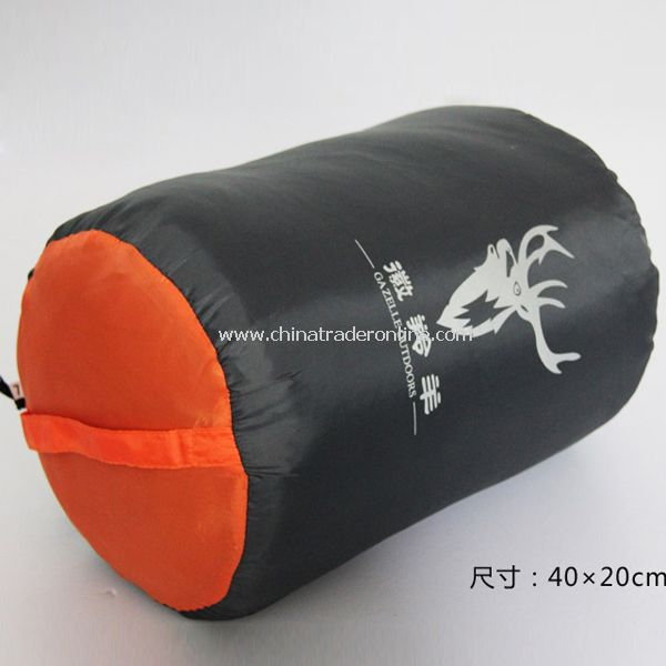 Outdoor Camping Sleeping Bag 15 Degree Polyester Fabric Multicolor Blanket from China