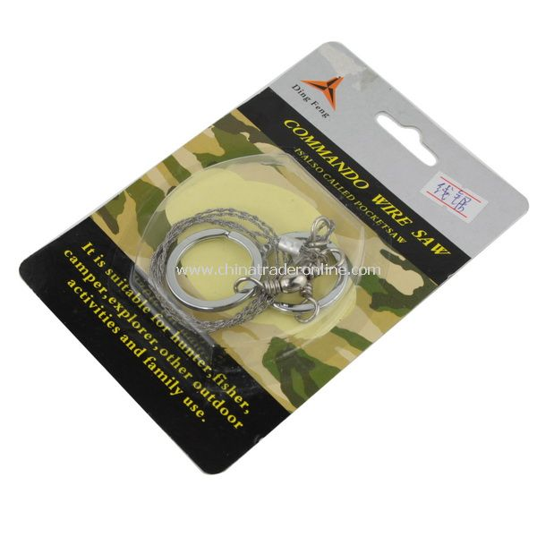 Steel Wire Saw Emergency Camping Hunting Survival Tool