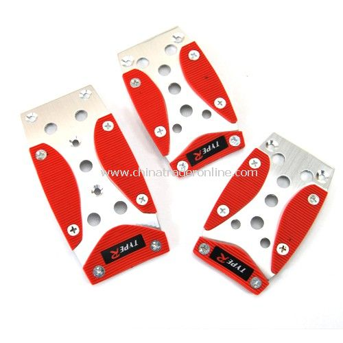 three - in - one manual quality aluminum alloy car foot pedal - rectangular pedal