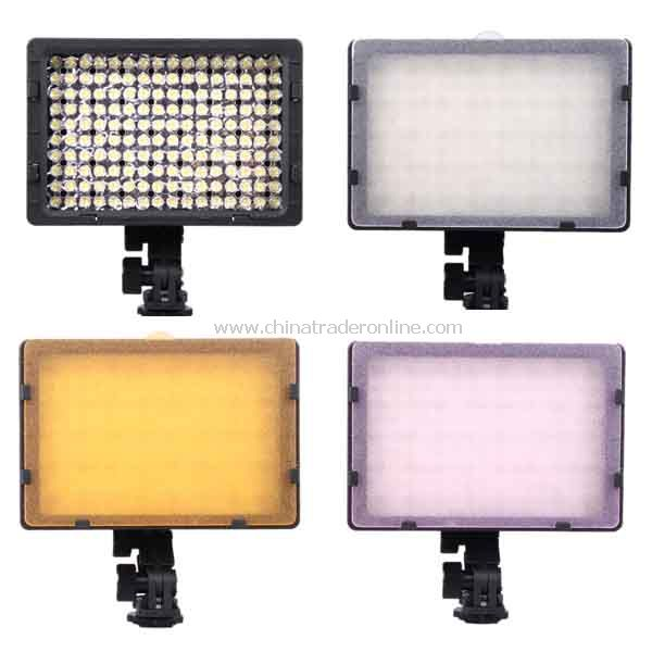 CN-160 160-LED Video Light for DV Camcorder Lighting Panel with diffusers