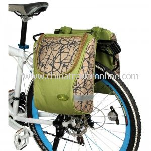 Durable Outdoor Sports Bicycle Backseat Bags from China