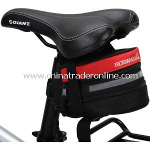 Durable Riding Equipment Travelling Waterproof Cycling Saddle Bag from China