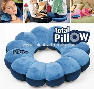 The Total Pillow 5-in-1 Pillow - Changes Shape in Seconds