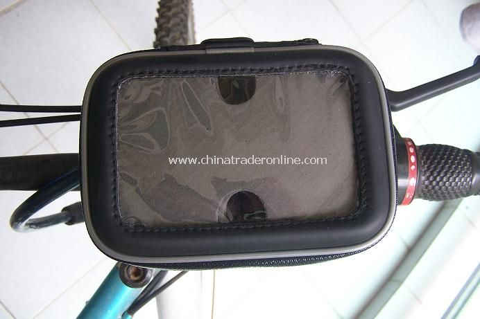 Universal water-proof 4-6 GPS/phone holder for bike or motobicycle